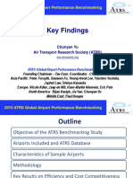 Key Findings of 2015 ATRS Benchmarking