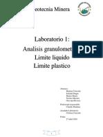 Lab 1 Geotecnia