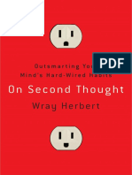 On Second Thought by Wray Herbert - Excerpt