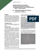 Informe 04 - Amplificador Bipolar Clase AB. Andrés Duque.pdf