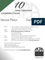2010 ASPA Supervisor Forum