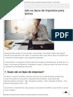 Conheça quais são os tipos de impostos para cada tipo de empresa – Jornal Contábil.pdf