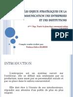 lesenjeuxstratgiquesdelacommunicationdesentreprises-140413142432-phpapp01