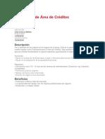Practicante de Área de Créditos BCP
