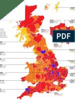 Population Change across the UK, 2009