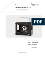 Tarea Impresión 3D