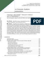 Analisis Metagenomico de Comunidades Microbianas (1)