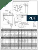 PFD Simulasi LNG Plant