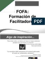 FOFA = Formador de Facilitadores