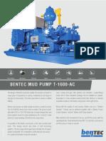 Bentec Mud Pump T-1600-Ac_130209