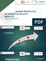 Cómo Elaborar Peoductos de Alto Impacto