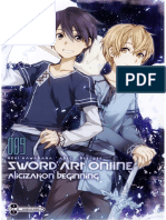Sword Art Online 9. Alicization Beginning (Underworld)