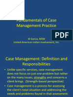 Summary Slides of Case Management