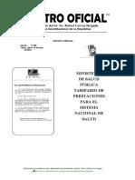 Tarifario Registro Oficial 2012