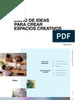 Libro de Ideas Para Crear Espacios Creativos EMEA ES