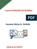 OPERACIONALIZACION DE VARIABLES 2018.pptx