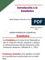 Introduccion a La Estadistica 2 2018