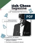 The British Chess Magazine Vol 134