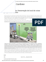 Desvio de Função_ Preservação de Local de Crime Por Policial Militar _ Aderivaldo Cardoso