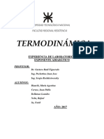 Laboratorio N°1 - Termodinamica