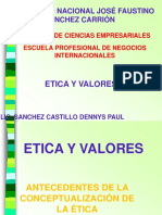 1 y 2- Etica, Conceptos y Tipos