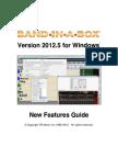 Band in a Box 2012_5 Upgrade Manual