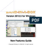 Band in a Box 2012_5 Upgrade Manual