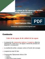 Conferencia 1 Teledetección - Raúl Espinoza