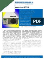 ESBomba DeCO2 SFT-10 Hoja de Especificaciones