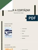 Leer a Cortázar. Diario de un viaje.