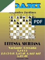 28- Defensa Siciliana, Variante Cerrada.pdf