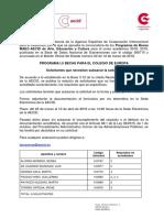 Resolución Subsanación Colegio de Europa