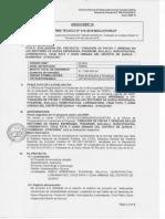 Informe de Aprobacion Del PIP