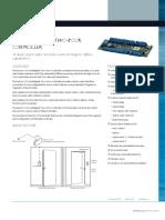 PACOM 1076 Intelligent 2 Door Controller Datasheet