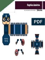 Capitán América Mini Papercraft By Becks Junkie.pdf
