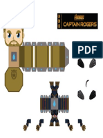 Captain Rogers by Imagine Minipapercraft