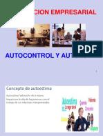 Autocontrol y Autoestima