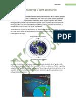 Norte Magnetico y Norte Geografico..
