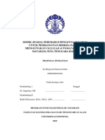 Model Spasial Perubahan Penggunaan Lahan Untuk Pembangunan Berkelanjutan Menggunakan Cellular Automata Di Kota Mataram_rev 6