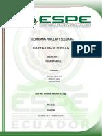 Economía Popular y Solidaria Coop Servicios