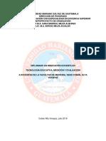 Informe Final Diplomado Cobán