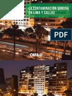 Cartilla La Contaminacion Sonora Lima y Callao