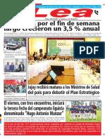 Periódico Lea Miércoles 02 de Mayo Del 2018