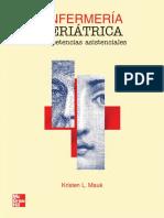 Enfermería Geriátrica. Competencias Asistenciales - Kristen L. Mauk