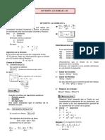 18.División Algebraica II