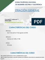 Administracion General EPN