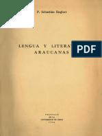 Lengua y Literaturas Araucanas 1936