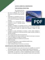 Ventajas y Desventajas Del Acero- Ing y La Sociedad