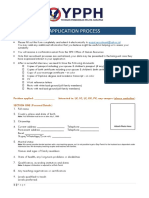 SPH Application Form
