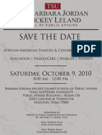 The State African-American Children in Houston Oct 9, 2010